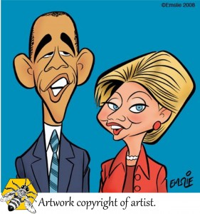 barrack and hilary