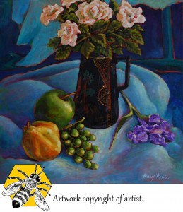 copyright mn still life fruit and floral