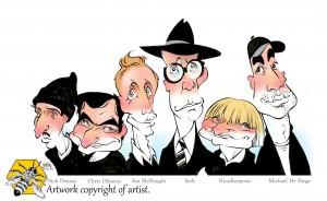six-novelists